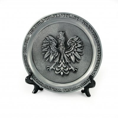 Poland Metal Eagle Decorative Plate - Taste of Poland  - 1