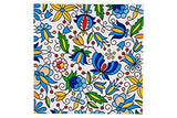 Polish Folk Art Kashubian Luncheon Napkins, Set of 20 - Taste of Poland  - 3