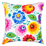 Polish Folk Art Accent Pillow - Taste of Poland  - 1