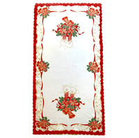Polish Two-Toned Christmas Table Runner 20