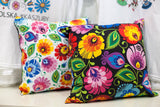 Polish Folk Art Accent Pillow - Taste of Poland  - 5