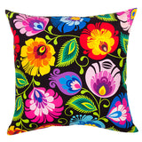 Polish Folk Art Accent Pillow - Taste of Poland  - 3
