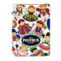 Polish Folk Art Card Game (PIOTRUS) with Polish Folk Costumes