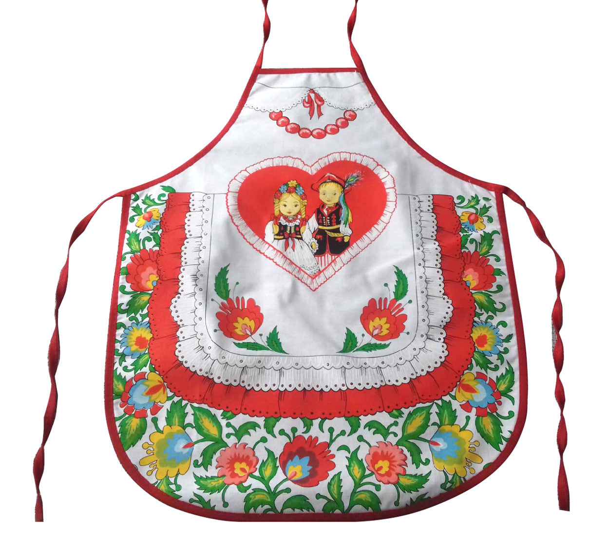 Polish Folk Art Lowicz Flowers Krakow Dancers Kids Kitchen ...