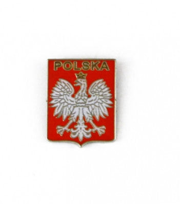 Polska Coat of Arms - Lapel Pin