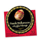 30 Easter Egg Wraps / Sleeves - Folk & Faberge EXCLUSIVE SERIES - Taste of Poland  - 3