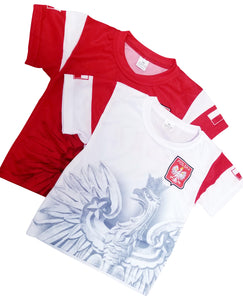 Polska Eagle Children's Soccer Jersey Shirt