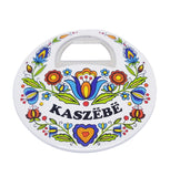 Polish Kashubian Folk Art Bottle Opener Magnet