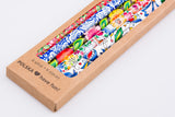 Polish Folk Art Wood Pencils with Eraser, Set of 6 in a box