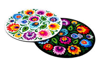 Polish Folk Art Round Mouse Pad - Taste of Poland  - 1