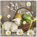 Polish Easter Lamb Luncheon Napkins, Set of 20