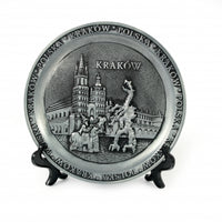 Poland City Metal Decorative Plate - Krakow