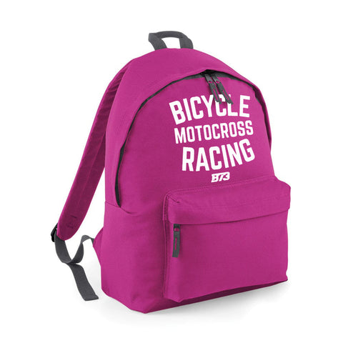BICYCLE MOTOCROSS RACING BACKPACK [FUSCHIA]