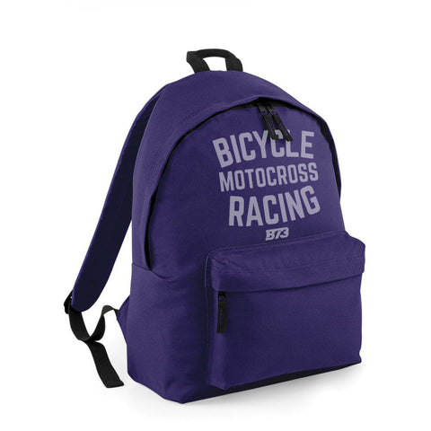 BICYCLE MOTOCROSS RACING BACKPACK [PURPLE]