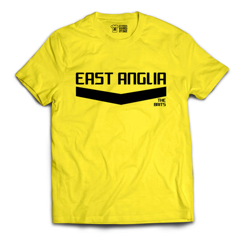 EAST ANGLIA REGION T-SHIRTS - 'OFFICIAL' Merchandise