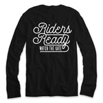 Riders Ready Watch The Gate L/S [Black]