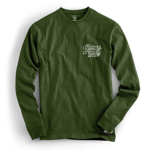 Riders Ready Watch The Gate L/S [Khaki]