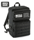 BICYCLE MOTOCROSS TACTICAL BACKPACK [BLACK]