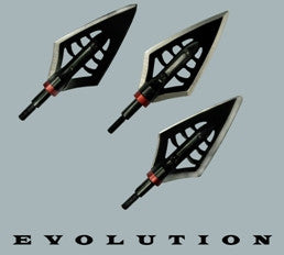 Werewolf Broadheads FIRE SALE DISCONTINUED WHEN SOLD OUT Pack of 6