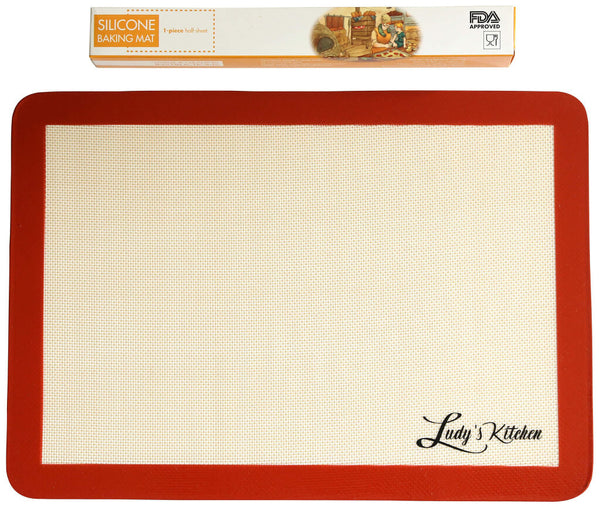 Ludy's Kitchen 1-pc silicone baking mat
