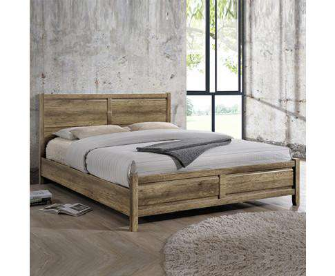 Melbournians Furniture Alice Bed Double Oak
