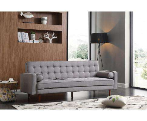 Melbournians Furniture Sofa Marcella Grey Standard Fabric