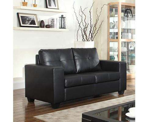 Melbournians Furniture Nikki Sofa Black 2 Seater