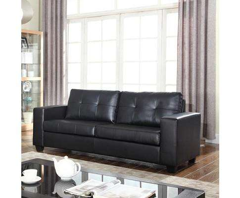 Melbournians Furniture Nikki Sofa Black 3 Seater