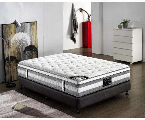 Feather Comfort Premium Euro Top Pocket Spring Mattress - Plush
