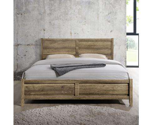Melbournians Furniture Alice Bed Queen Oak