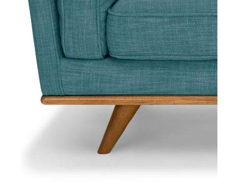 Melbournians Furniture York Sofa 2 Seater Teal