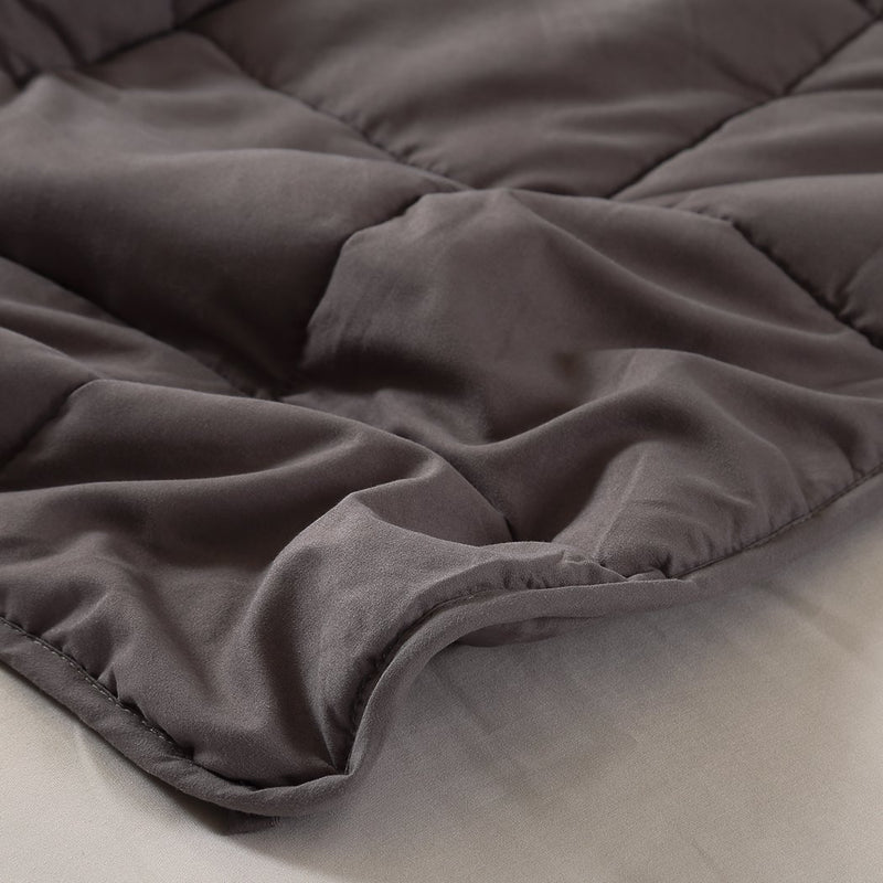 Weighted Blanket Heavy Gravity Deep Relax 5KG Adult Double Grey