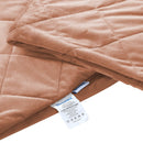 7KG Anti Anxiety Weighted Blanket Gravity Blankets Dusty Pink Colour