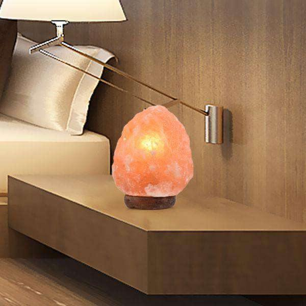 2-3 KG HIMALAYAN SALT LAMP ROCK CRYSTAL NATURAL LIGHT DIMMER SWITCH CORD GLOBES