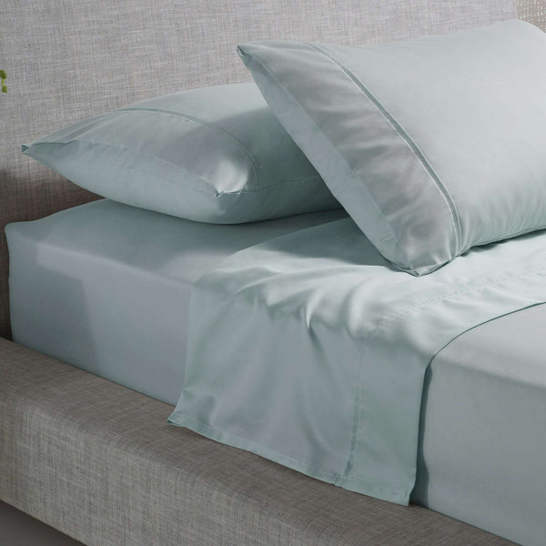 Accessorize 1000TC Cotton Rich Sheet Set - Duckegg