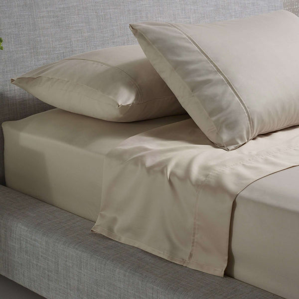 Accessorize 1000TC Cotton Rich Sheet Set - Beige