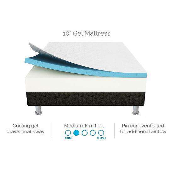 Palermo Body Rest Mattress-Mattresses-Palermo-Big Bedding Australia