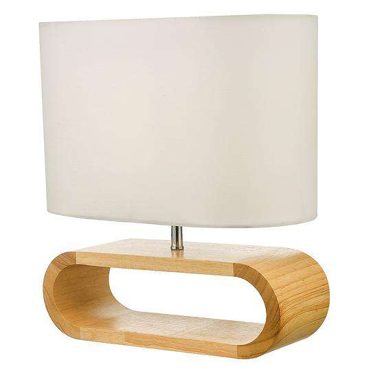 Contemporary Wooden Bedside Lamp-Lamp-Palermo-Big Bedding Australia