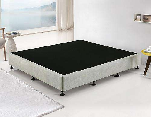 Palermo Mattress Base - Platinum Light Grey
