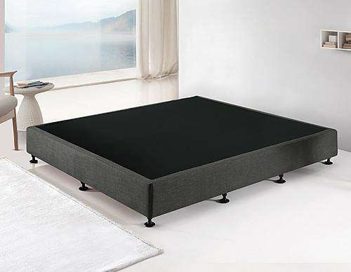 Palermo Mattress Base - Platinum Graphite