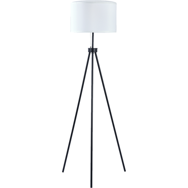 Mid-Century Standing Floor Lamp with Modern Tripod Decor