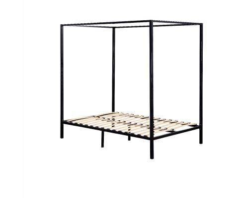 Four Poster Steel Bed Frame