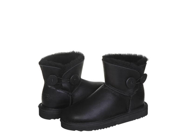 Australian UGG NAPPA Mini Button UGG Boots - 3 Colours
