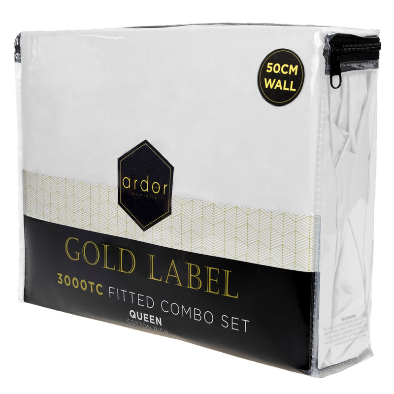 Ardor GOLD 3000TC FITTED COMBO SET- 3 Colours