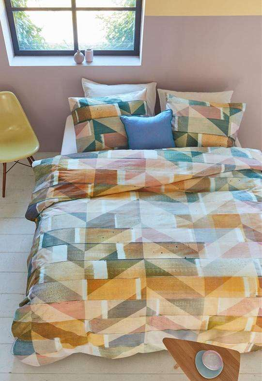 Bedding House Scrapwood Multi Quilt Cover Set