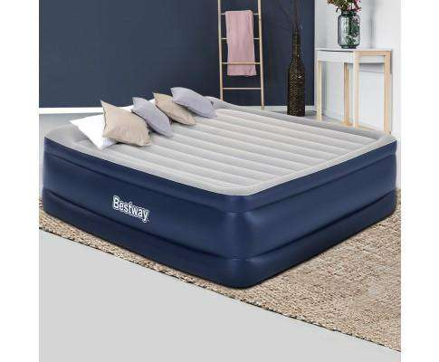 Bestway Air Bed Inflatable Mattress Sleeping Mat Battery Built-in Pump