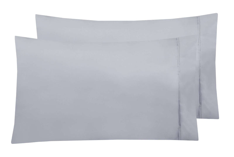 Accessorize 2 Pack Standard Pillowcases - 8 Colours