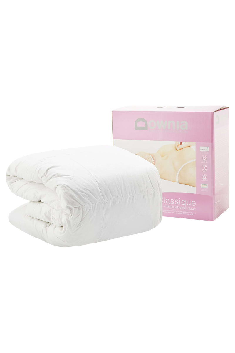 Downia Classique 85 White Duck Down Quilt