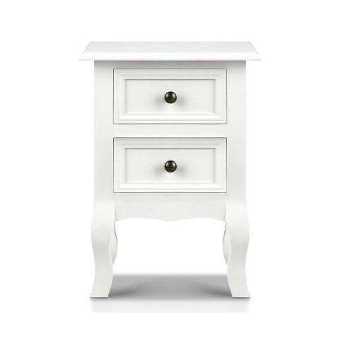 Artiss Classic French Provincial Bedside Table