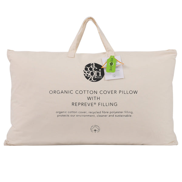 Accessorize Organic Cotton Pillow